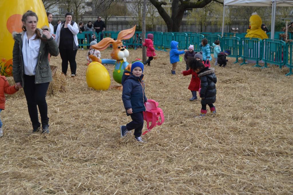 Paris Easter Egg hunt