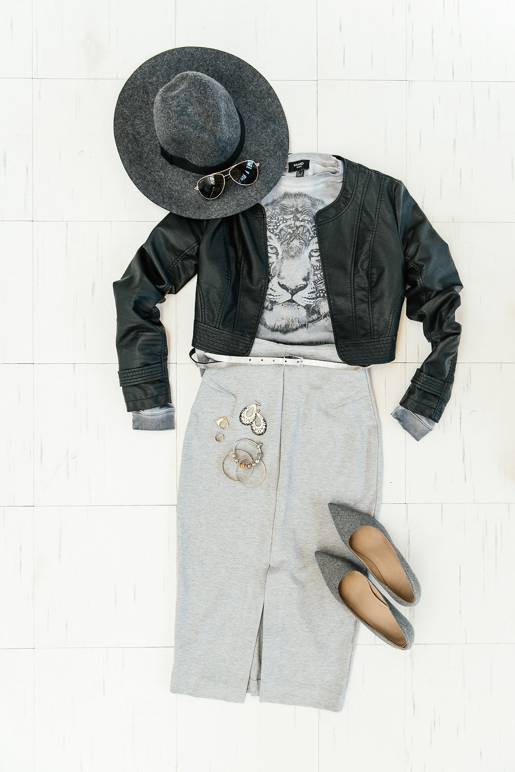 Grey outfit Smartgirl