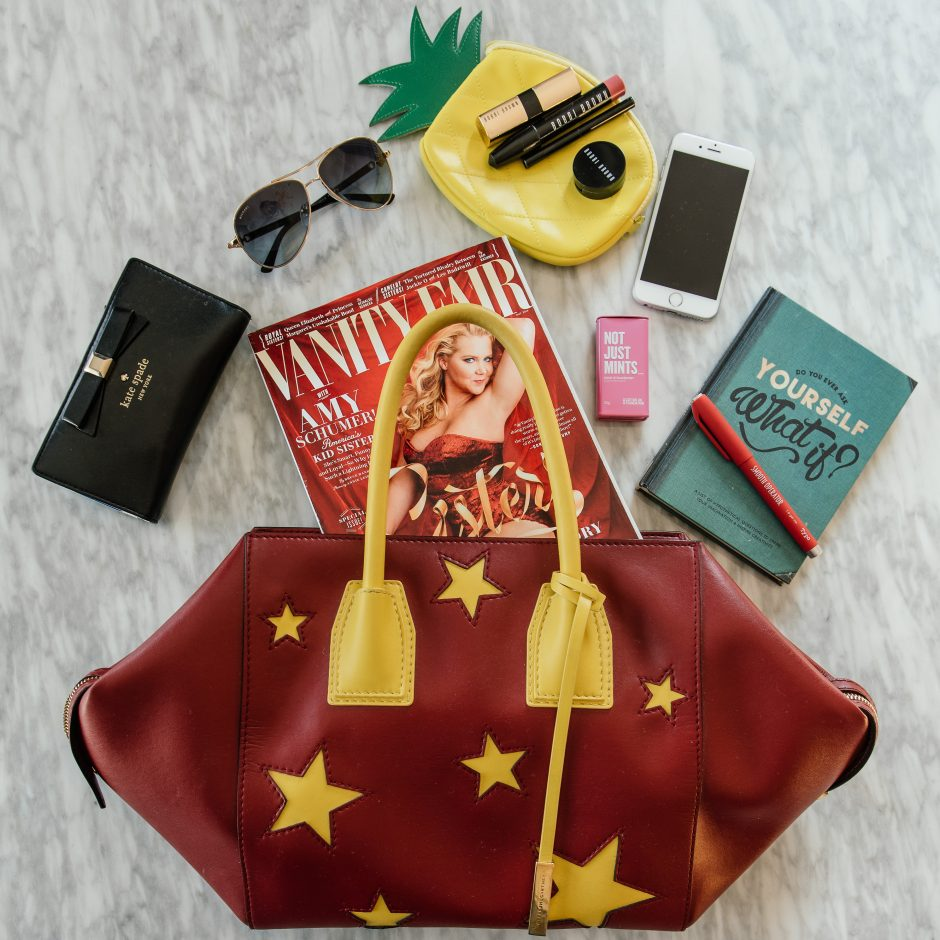 Red & Yellow Star Stella McCartney Tote