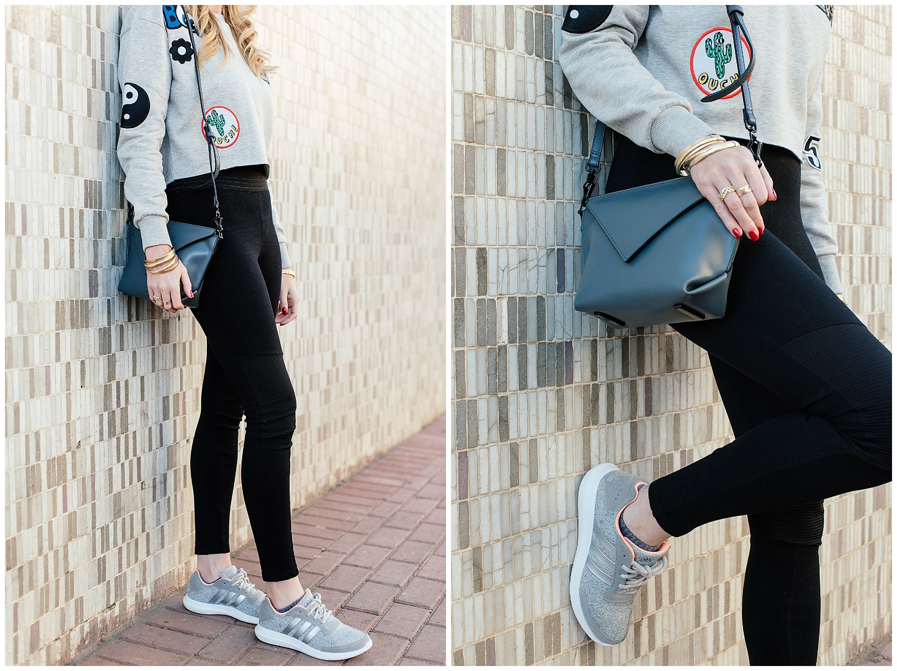 Athleisure adidas Supercloud trainers