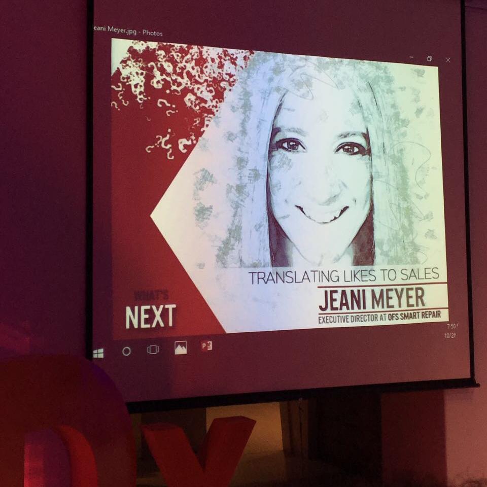 JeanI Meyer TEDx Bloemfontein