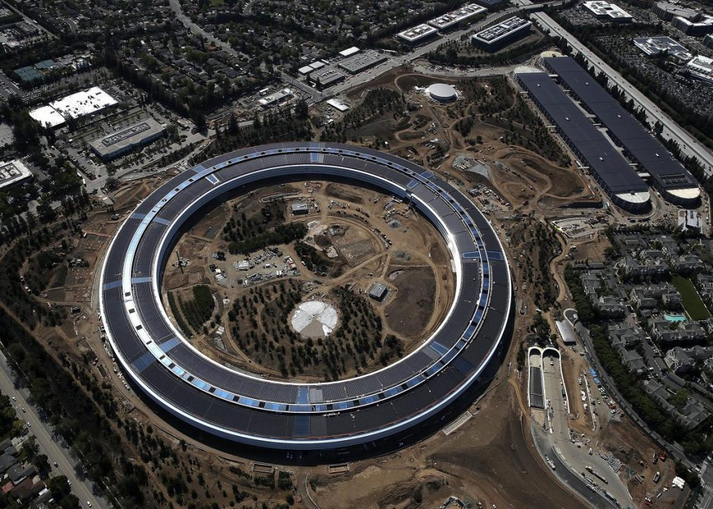 Apple campus • World's Most Valuable Brands