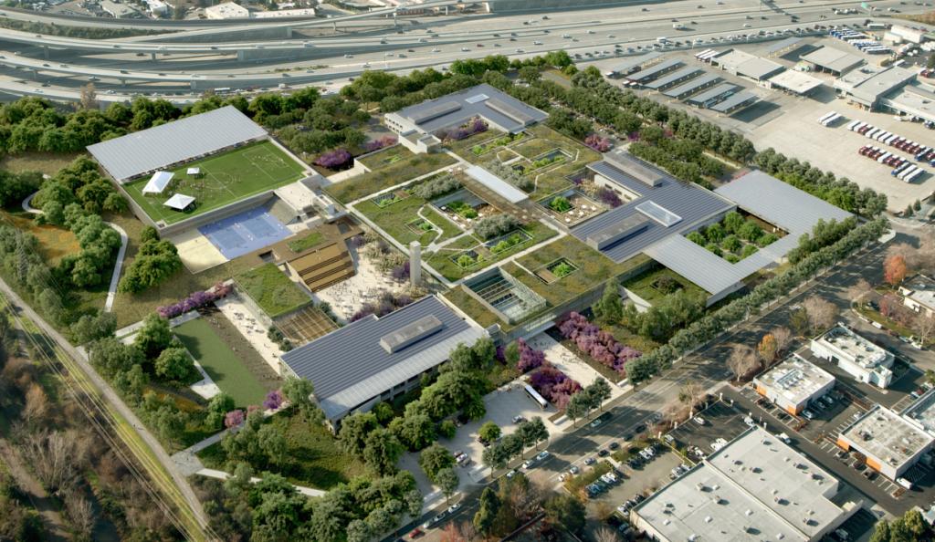 Microsoft's campus