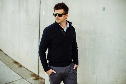 Smartguy Street Style • Winter shades of Grey - Gysie Pienaar
