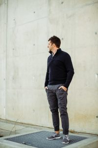 Smartguy Street Style • Winter shades of Grey - Gysie Pienaar