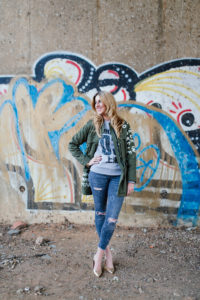 Jeani Meyer - Smartgirl street style • The graffiti parka