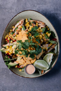 Smart Food • The Tequila Mexican Chicken Salad