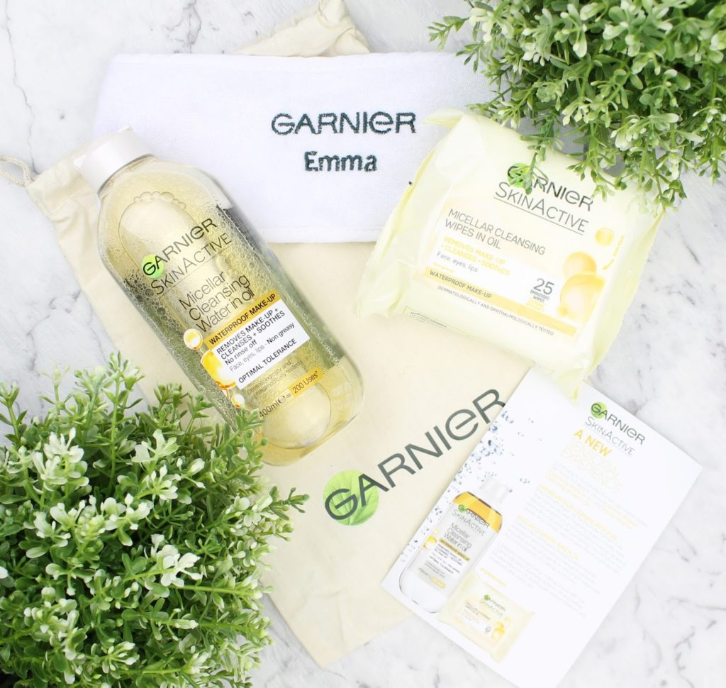 Garnier Micellar Cleansing Water in Oil Banner