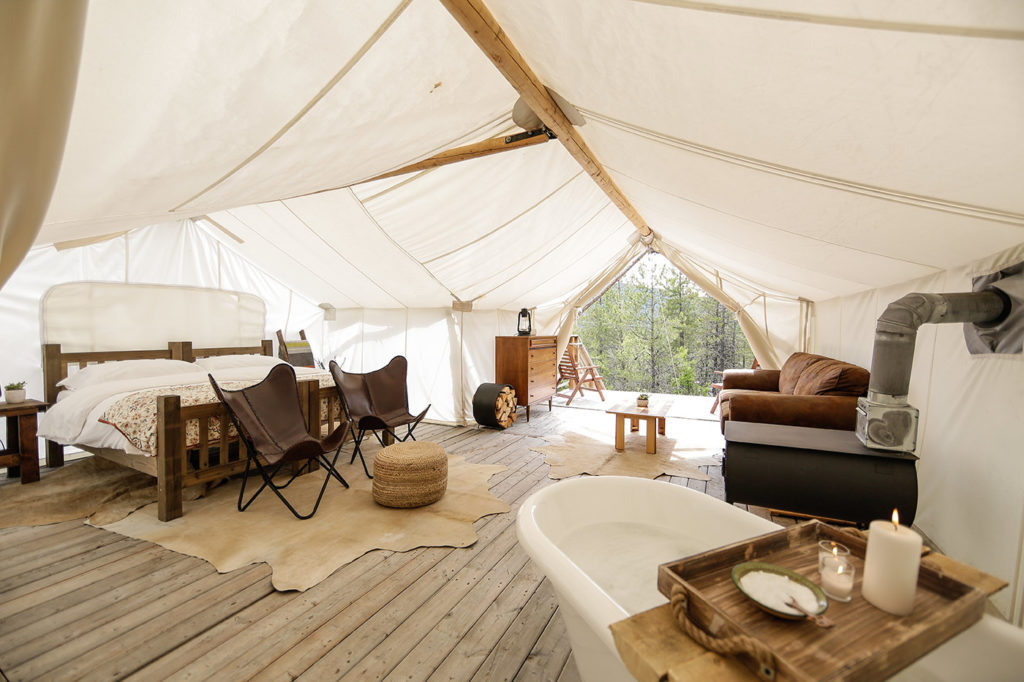 Tiffany's Tips • Glamping