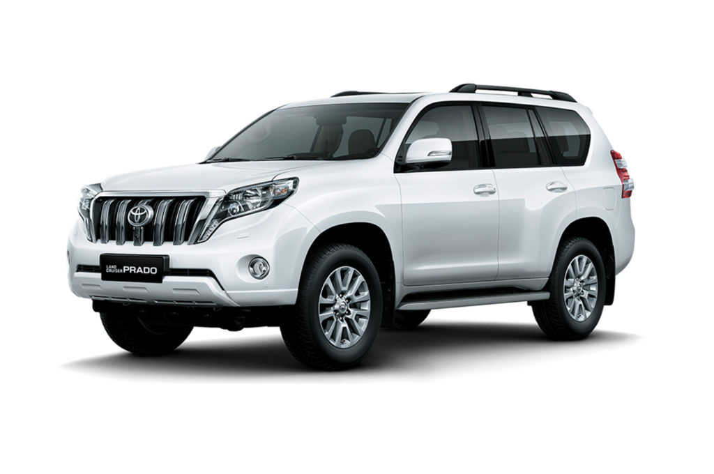 The best and worst cars for part prices in South Africa • Toyota Prado