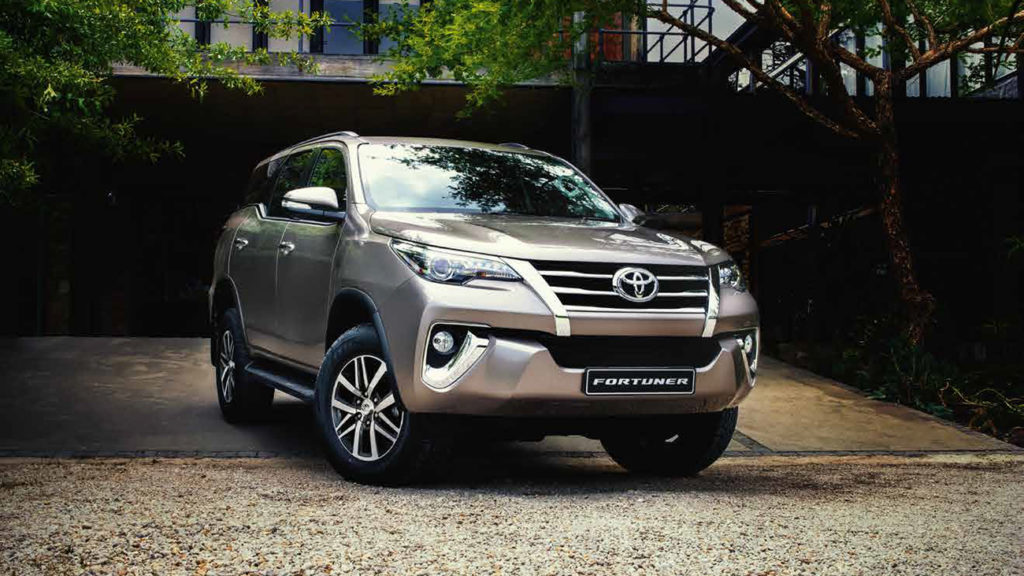 The 5 most popular car brands in South Africa right now • Toyota Fortuner 2018