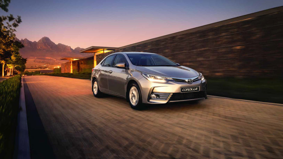 The 5 most popular car brands in South Africa right now • Toyota Corolla 2018
