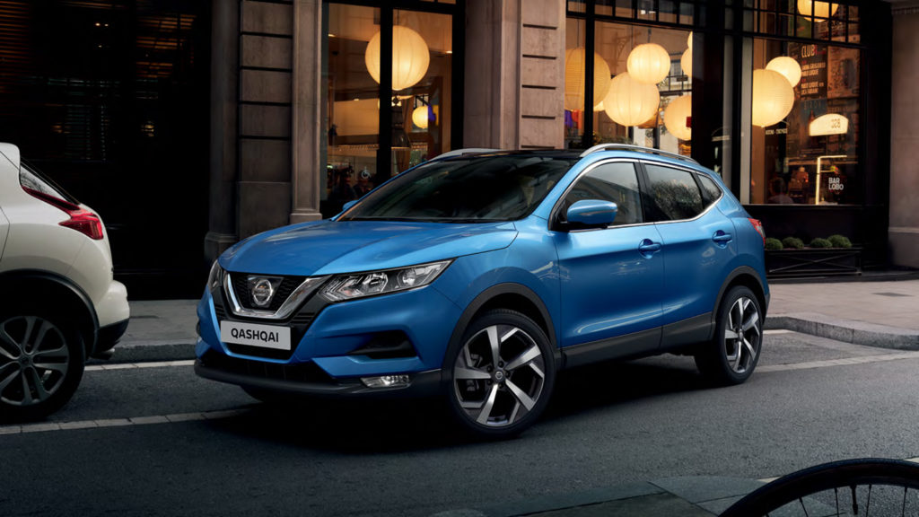 The 5 most popular car brands in South Africa right now • Nissan Qashqai 2018