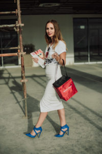 Street Style • The SMART Graphic Tee - Kirstin Botha