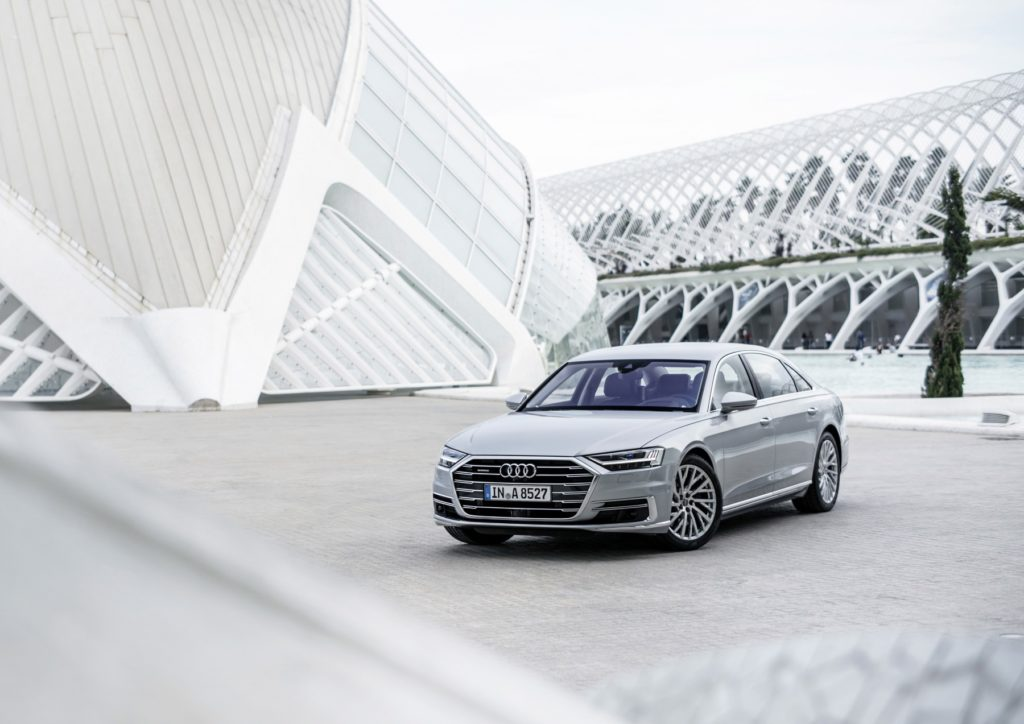 The World Car of the Year winners 2018 - Audi A8