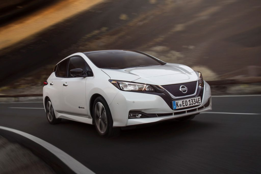 The World Car of the Year winners 2018 - Nissan LEAF