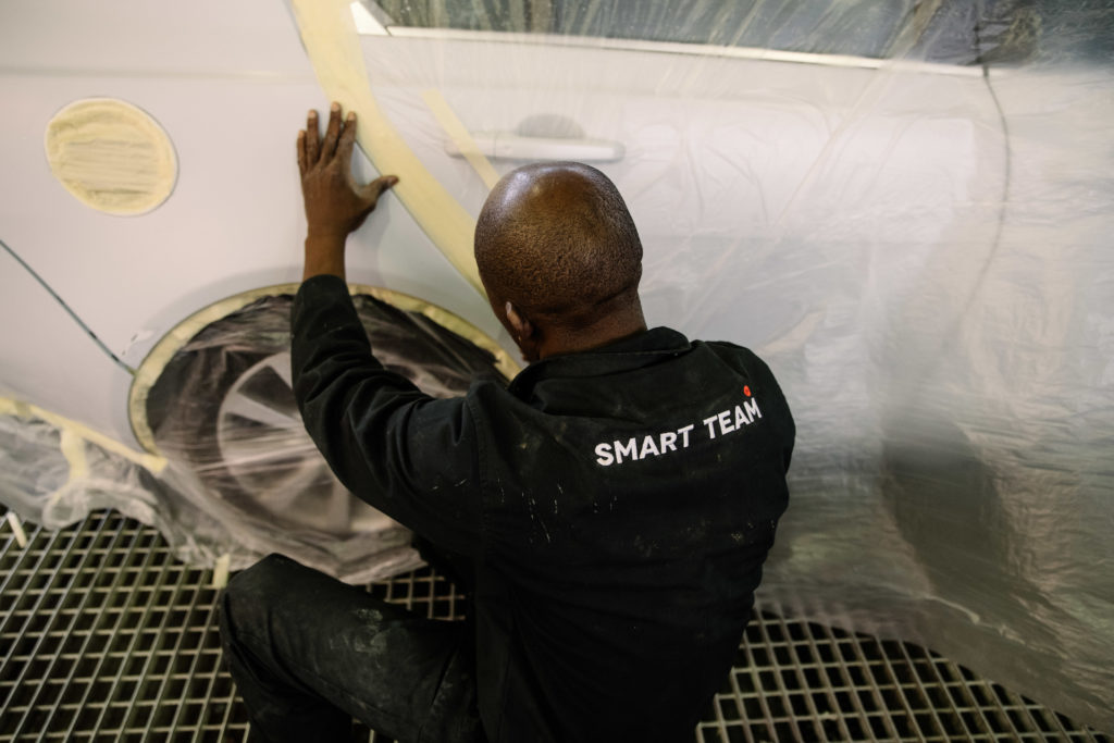 The OFS Smart Repair Paint Shop