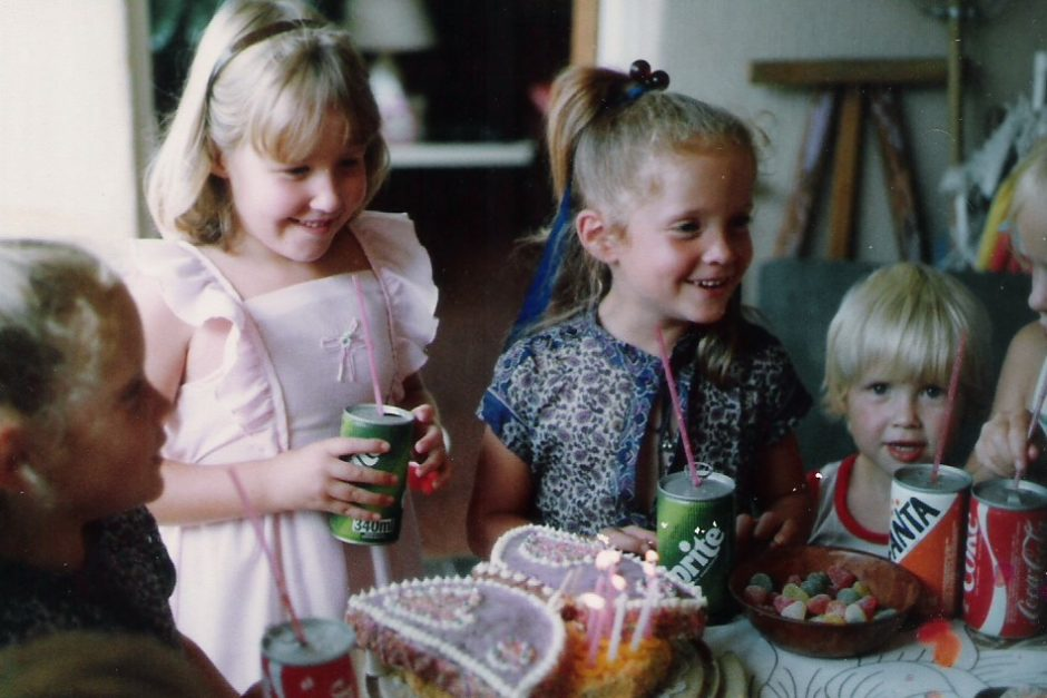 Smart Food • A girl and her love of party cakes, family and food • Jill Nowers