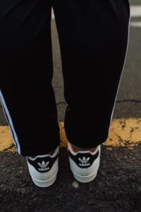 Smartgirl Street Style • Twinning in Adidas