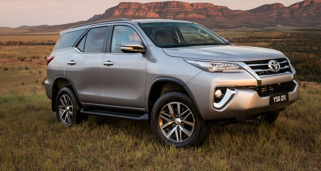 These are the best family cars in South Africa Toyota Fortuner