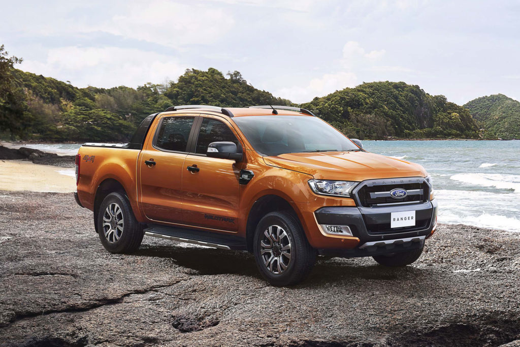 The most popular car colours in South Africa • 2018 Orange Ford Wildtrack