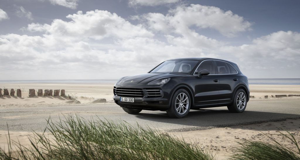 The most popular car colours in South Africa • 2018 Black Porsche Cayenne
