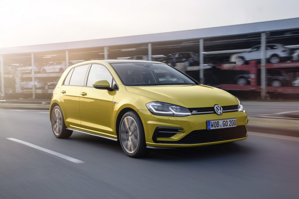 The most popular car colours in South Africa • 2018 Yellow VW Polo SA