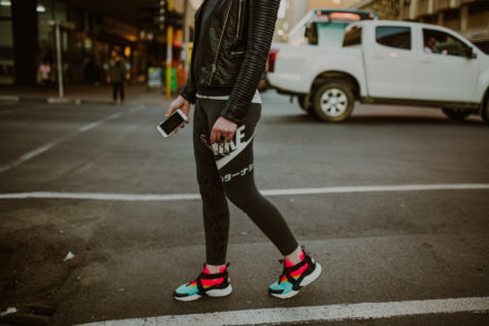 Smartgirl Street style • Chunky Sneakers