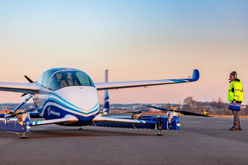 Boeing Flying car