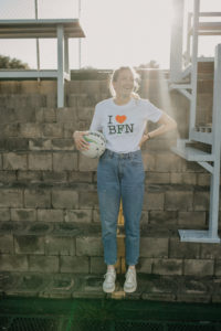 Karla Pretorius • Protea Netball I LOVE BFN Freedom of Movement